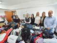ACISBEC entrega agasalhos para Fundo Social de Solidariedade